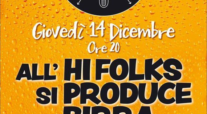 Produzione birra dal vivo