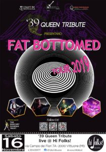 39 Queen Tribute band @ Hi Folks